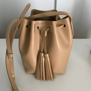 J. Crew Leather Bucket Bag